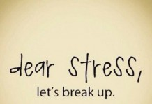 stress lets break up