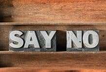 Nee zeggen tegen stress